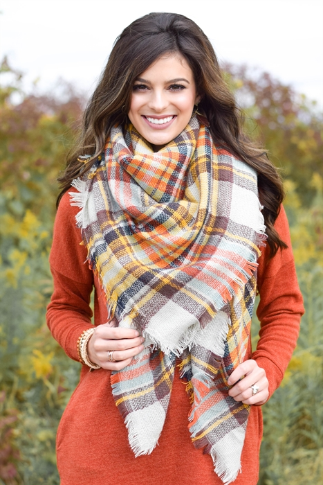 Picture of Autumn Breeze Blanket Scarf