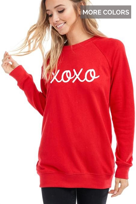 Picture of Hugs and Kisses Sweatshirt 🇺🇸